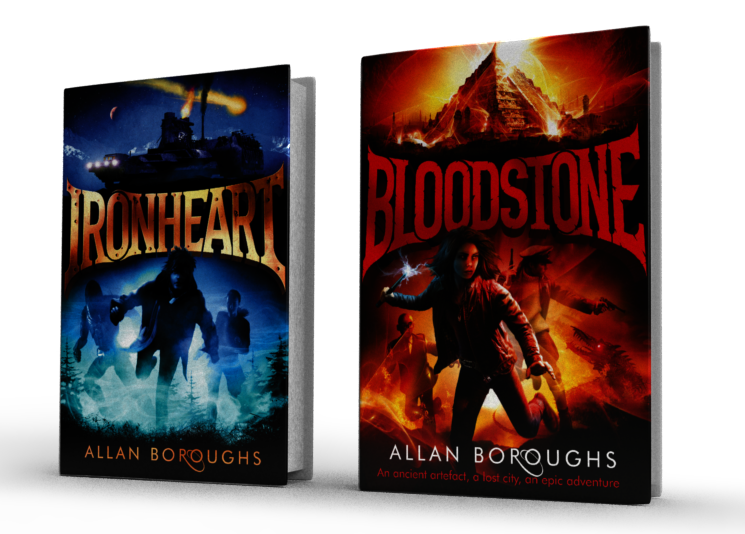 Ironheart and Bloodstone - Allan Boroughs